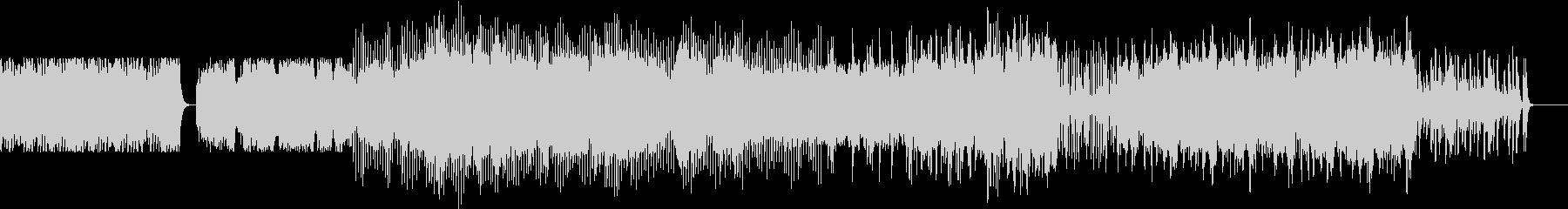 切ないバイオリンエレクトロの未再生の波形