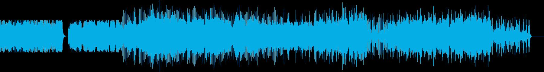 切ないバイオリンエレクトロの再生済みの波形