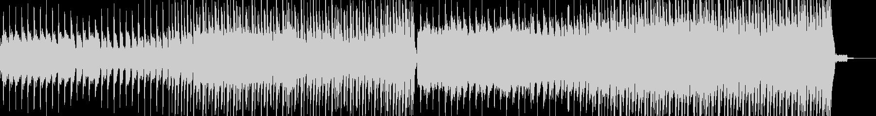 シンセリードとストリングスのエンディングの未再生の波形