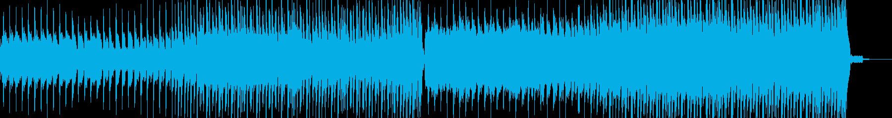 シンセリードとストリングスのエンディングの再生済みの波形