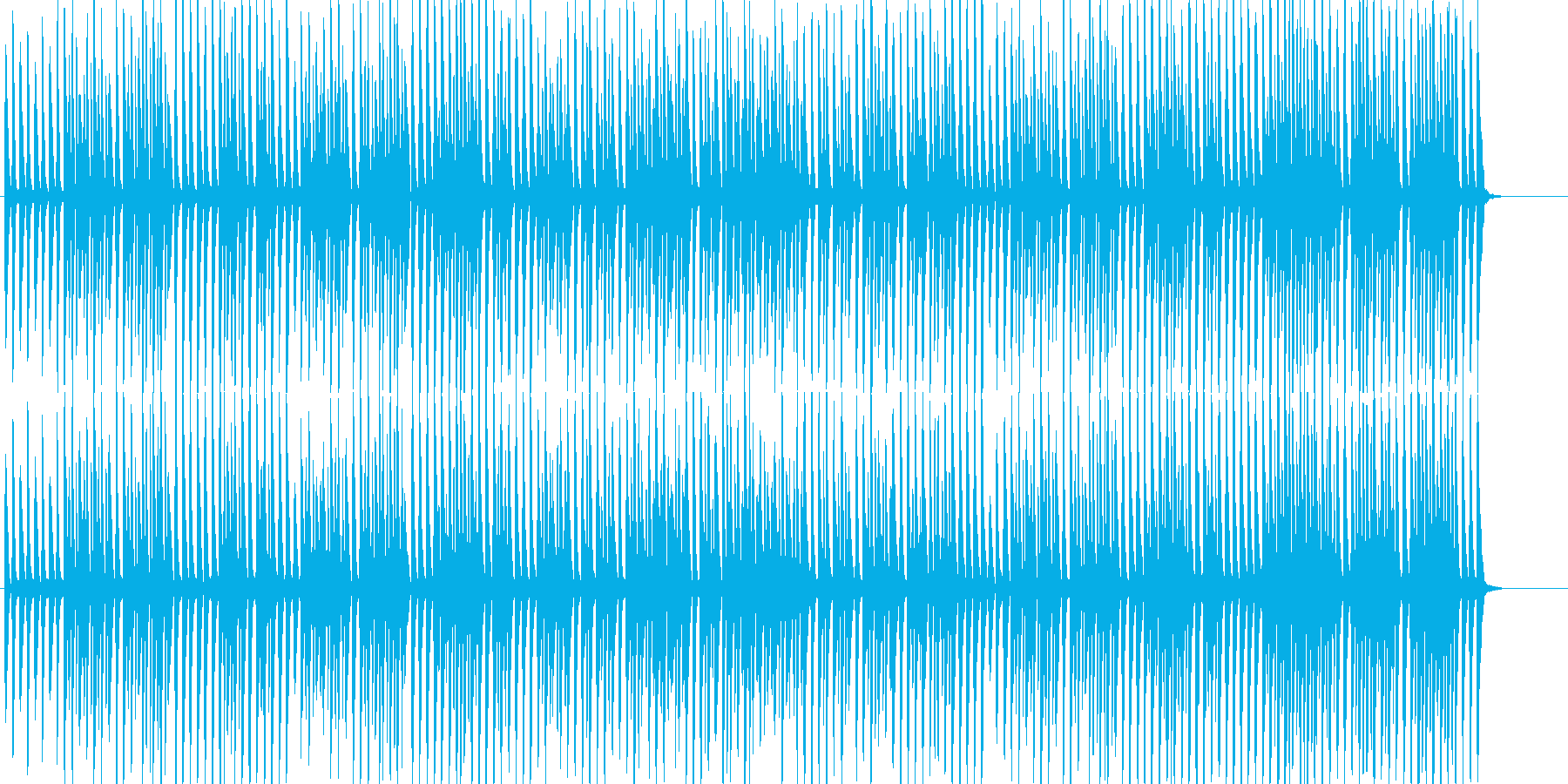 すこし優雅で可愛いラグタイム【ループ可】の再生済みの波形