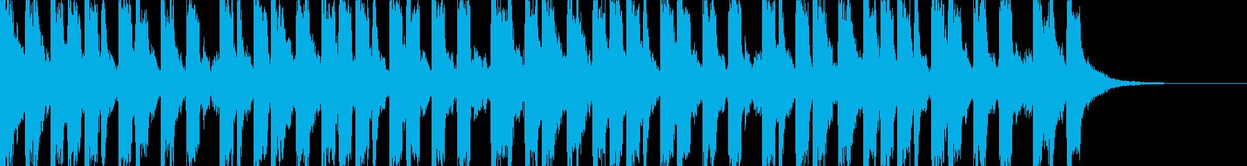 ヒップホップ、かっこいい、ダンス#3の再生済みの波形