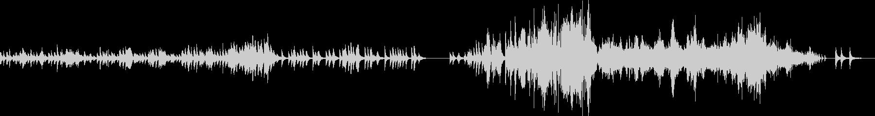 ショパン ノクターン Op48-No1の未再生の波形