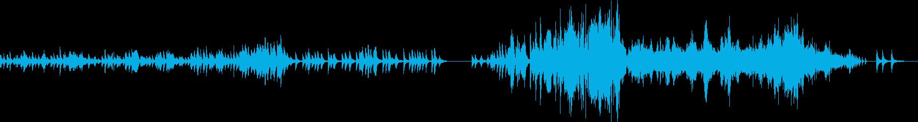 ショパン ノクターン Op48-No1の再生済みの波形