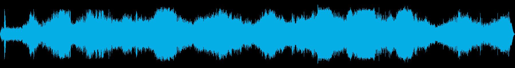 INT:加速、運転、激しいガチャガ...の再生済みの波形