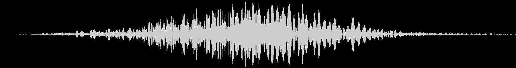 短い厚い振動ウーシュ1の未再生の波形