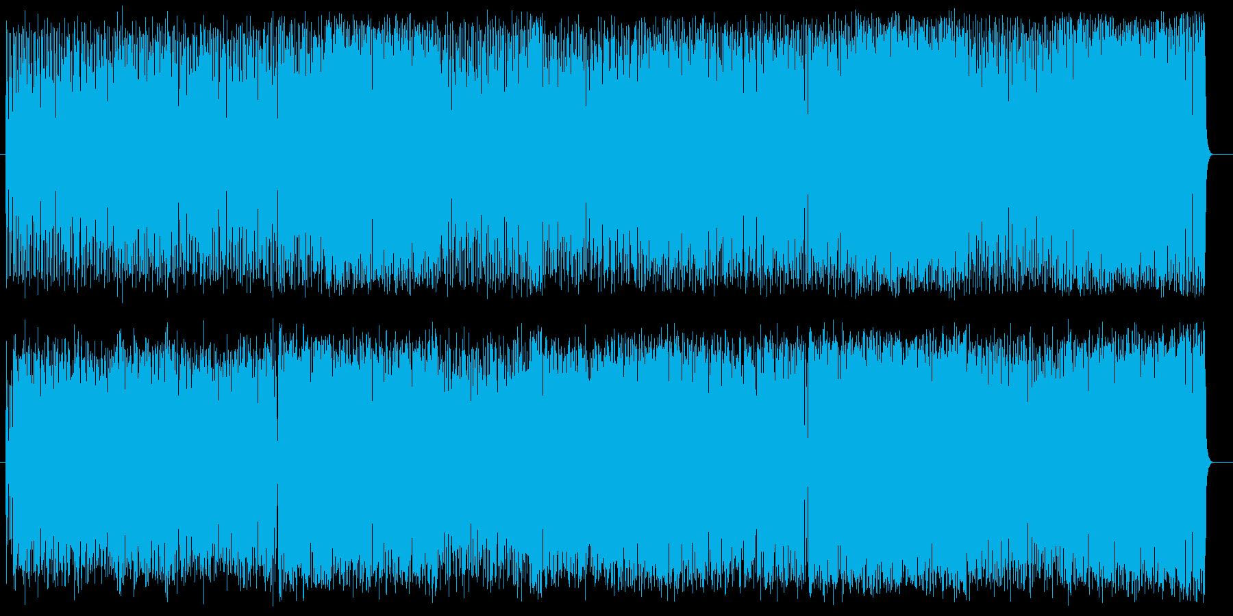 コミカル 楽しい にぎやか ペットの再生済みの波形