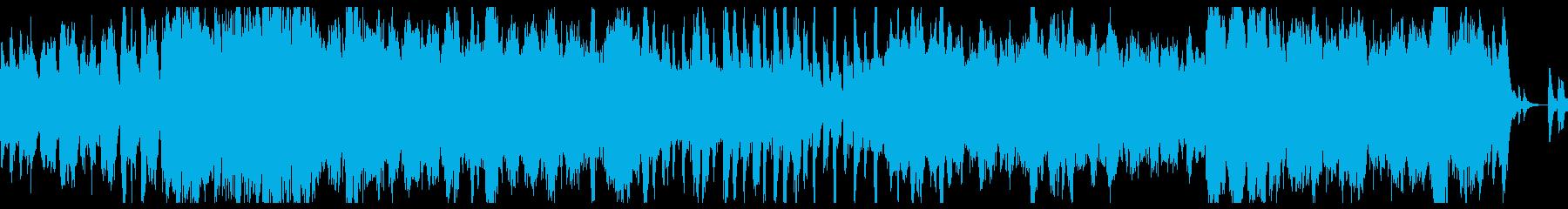 新版RPG向けオーケストラ曲『歓喜』の再生済みの波形