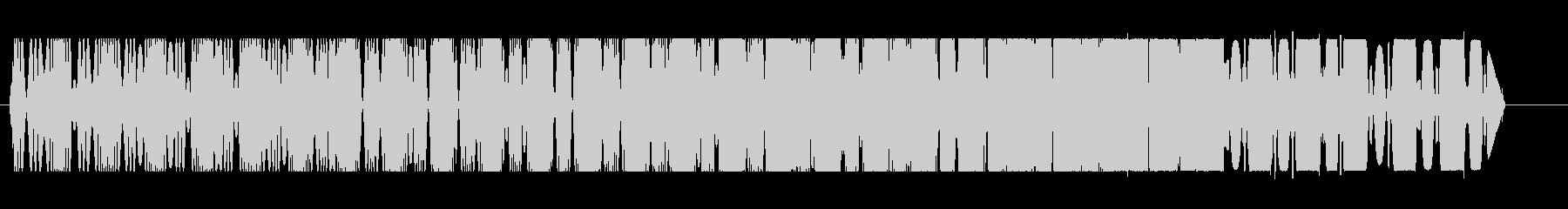 プルルル↑(コミカルな飛行音)の未再生の波形