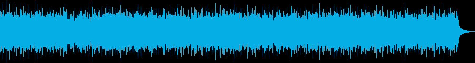 少しもの悲しい感じのするアコギBGMの再生済みの波形