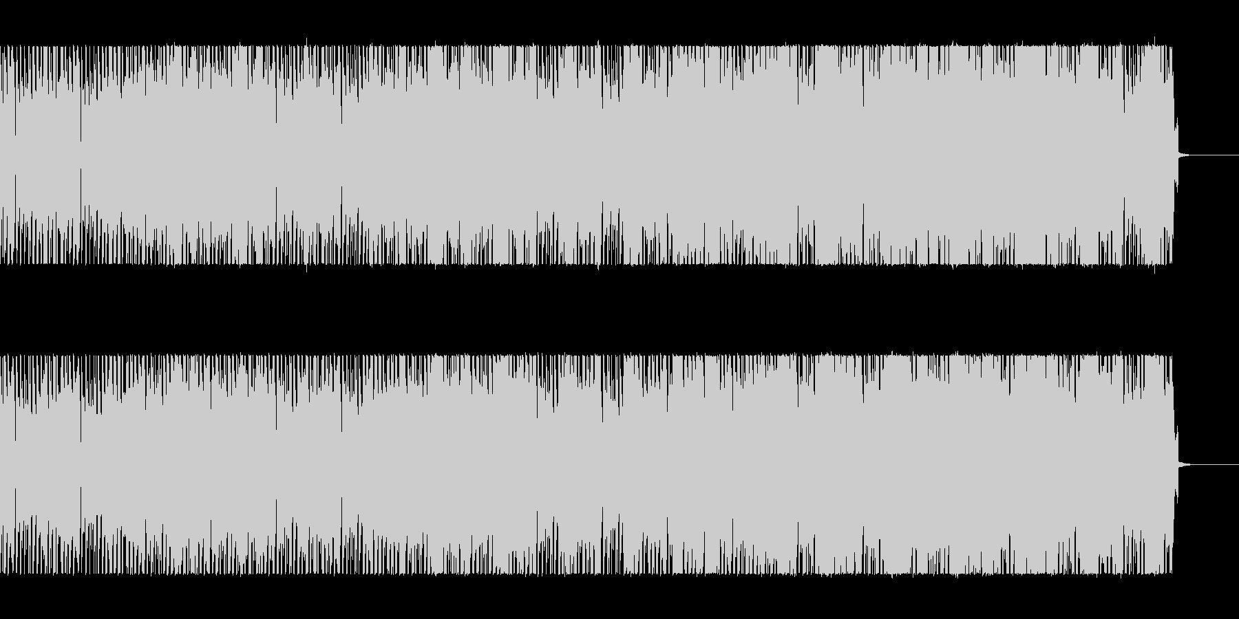 ダウンビートにシンセのリフが絡むの未再生の波形