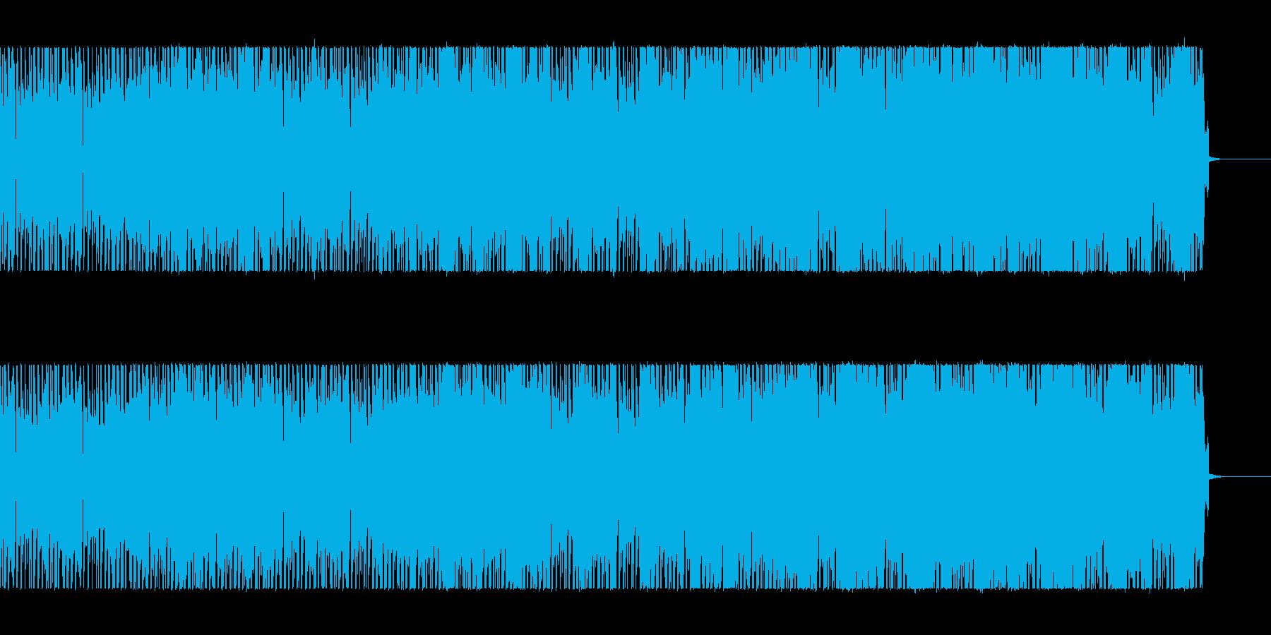 ダウンビートにシンセのリフが絡むの再生済みの波形