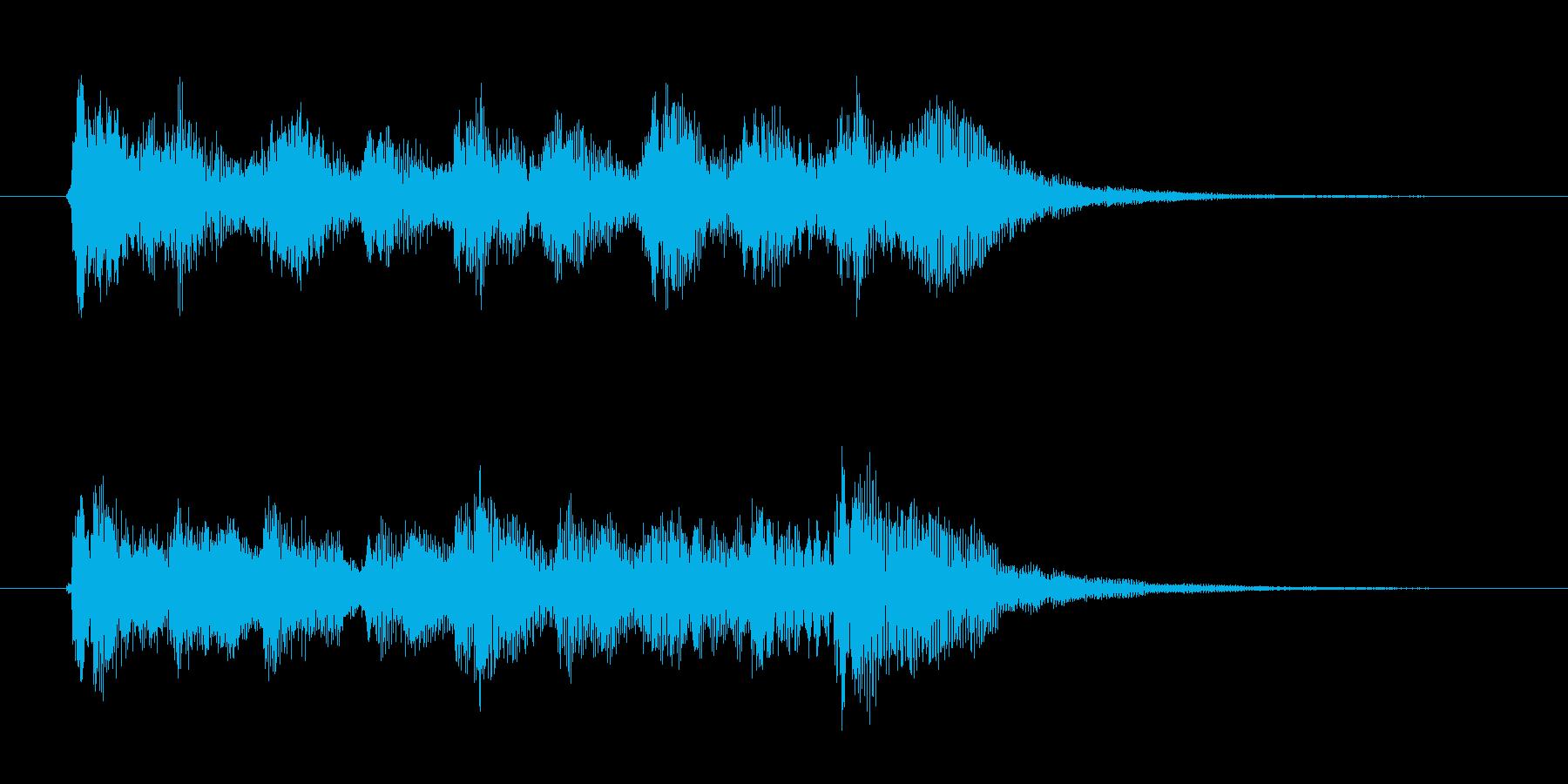 オープニング用ジングル115/ショートの再生済みの波形