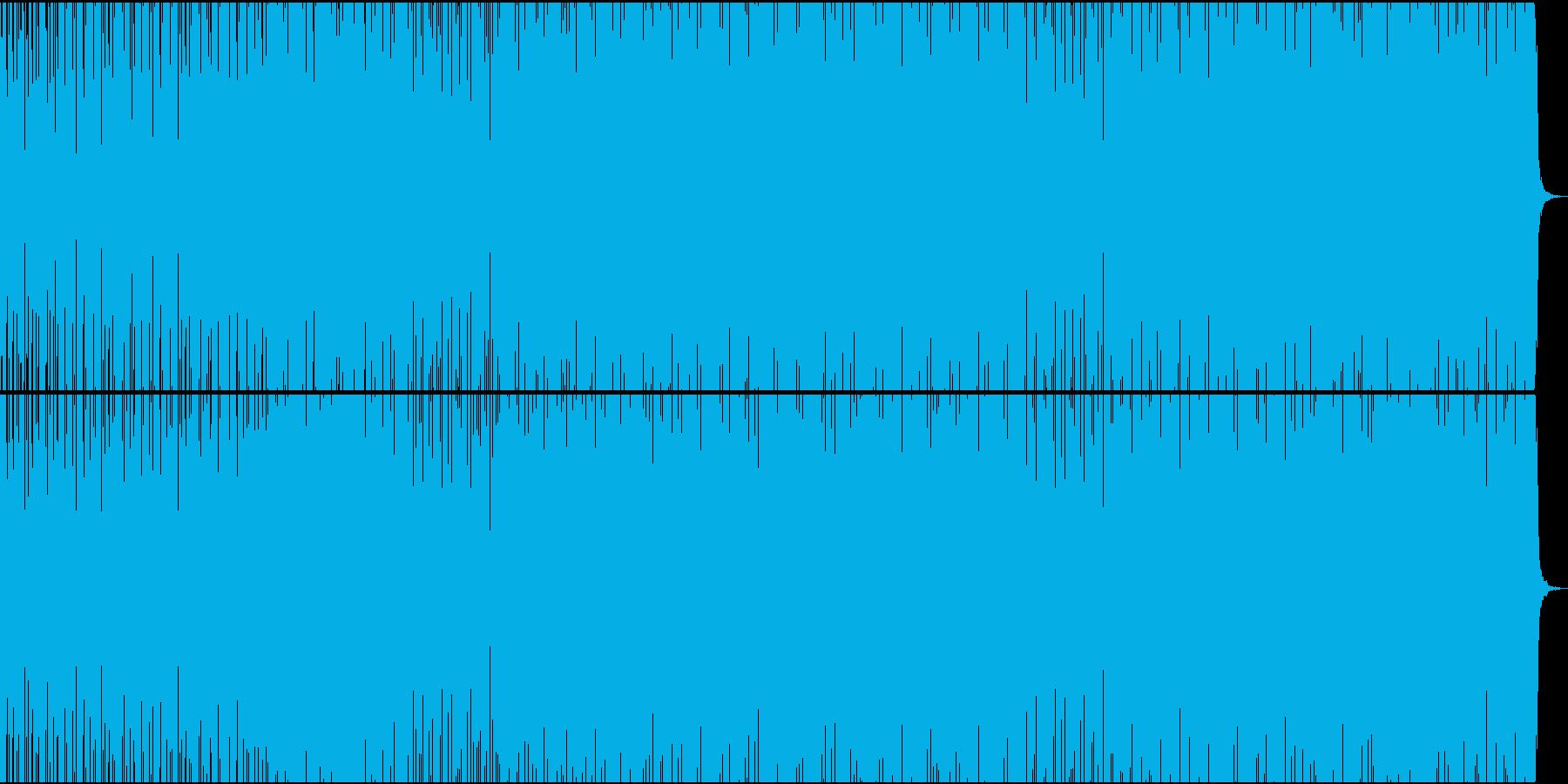 モチベーション・ワークアウト・リズミカルの再生済みの波形