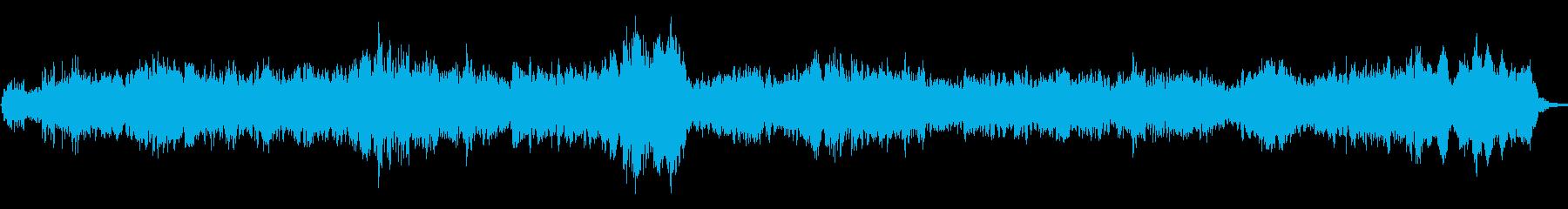 深海をイメージした幻想的なアンビエントの再生済みの波形