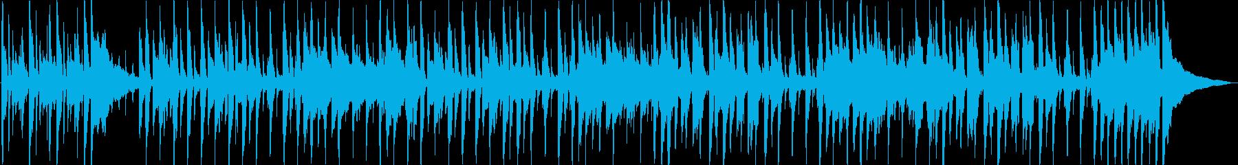 アコースティックギターのリズムとメ...の再生済みの波形