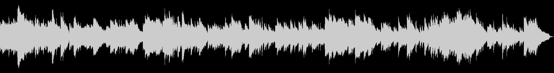 きれいなピアノのアルペジオ。ループ可の未再生の波形