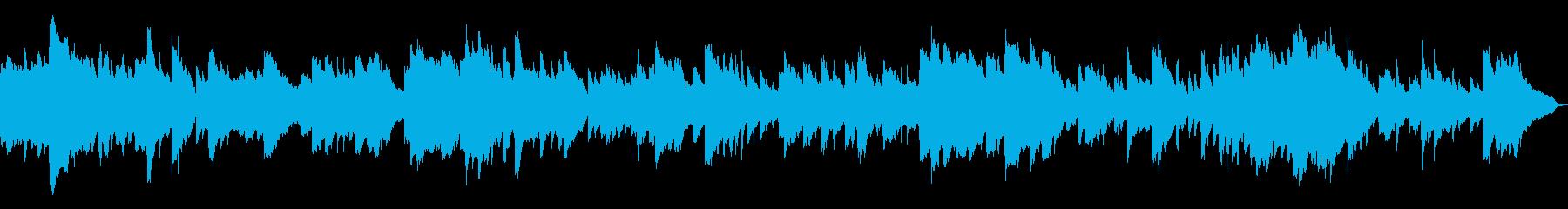 きれいなピアノのアルペジオ。ループ可の再生済みの波形