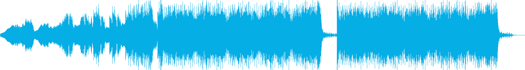 宇宙/科学ドキュメンタリー調近未来的音楽の再生済みの波形
