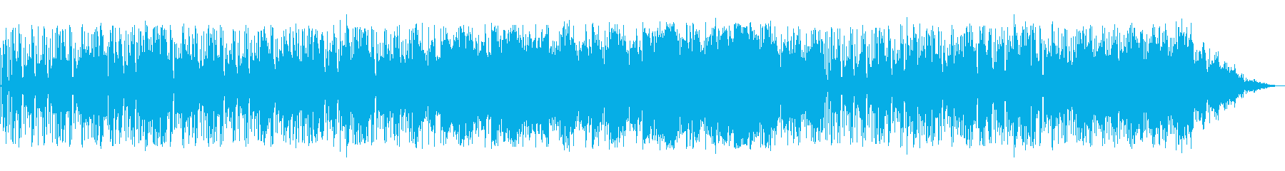 シンセリードの旋律が印象的なバラードの再生済みの波形