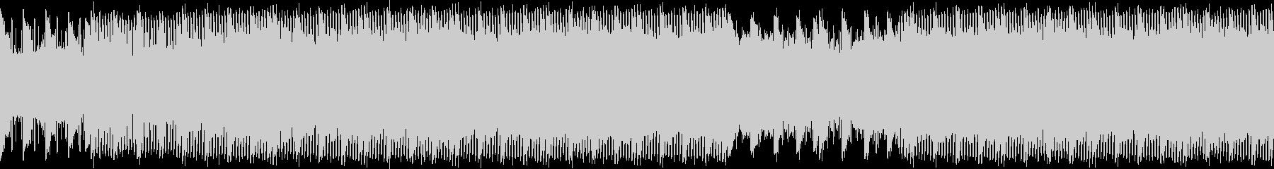 アルペジオが印象的なインストの未再生の波形