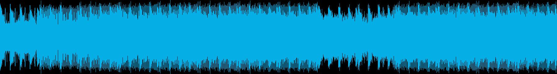 アルペジオが印象的なインストの再生済みの波形