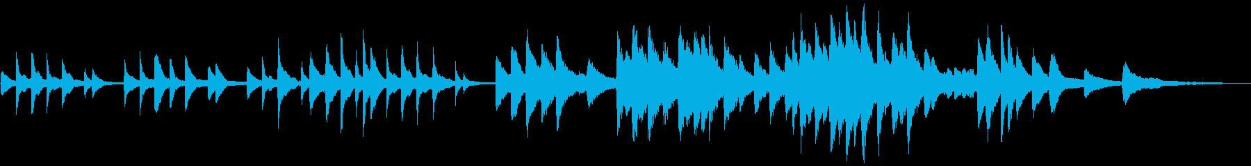 ピアノと星空の短いバラード(SB版)の再生済みの波形
