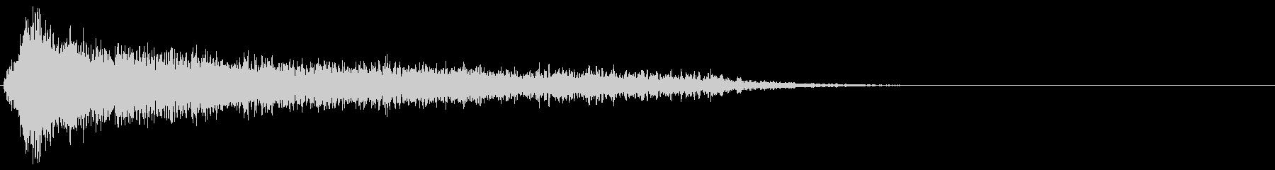 サスペンスピアノ音_1-2の未再生の波形