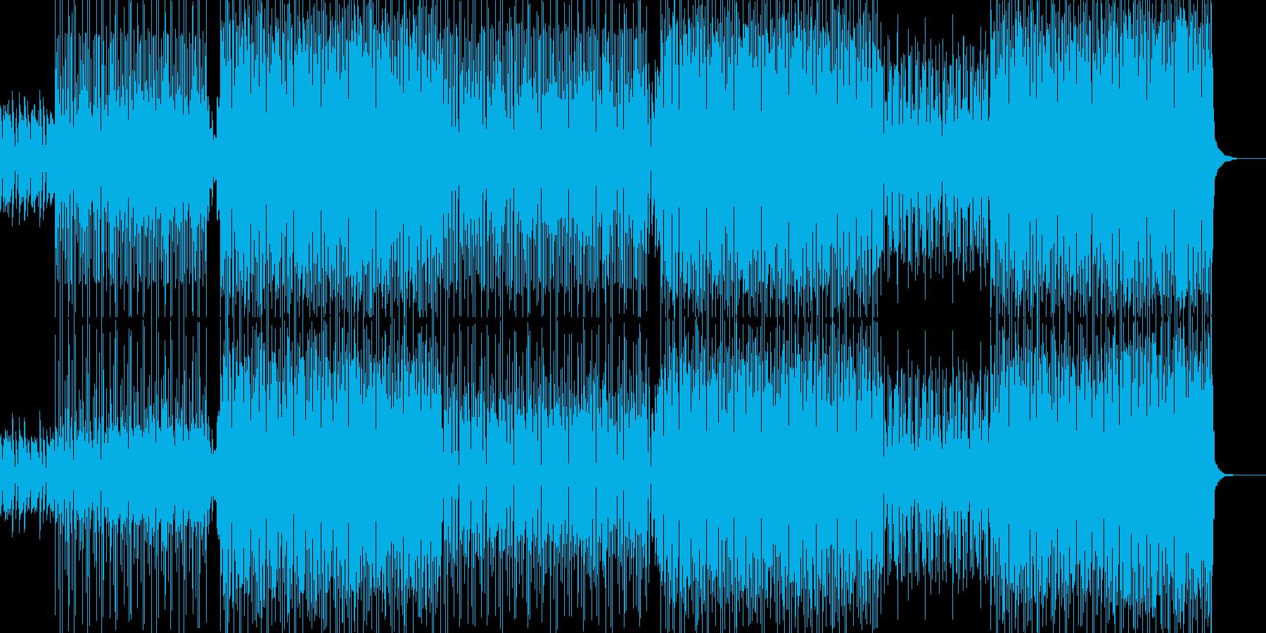 角と打楽器のラテンの雰囲気は、国境...の再生済みの波形