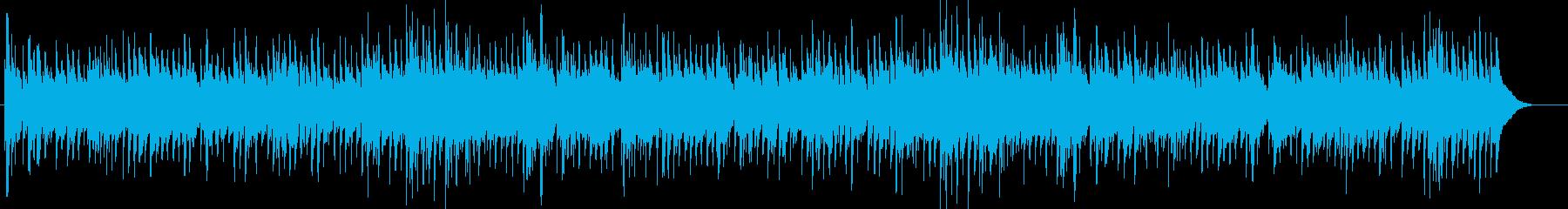ほのぼのアコギと鈴のカントリー冬の散歩の再生済みの波形