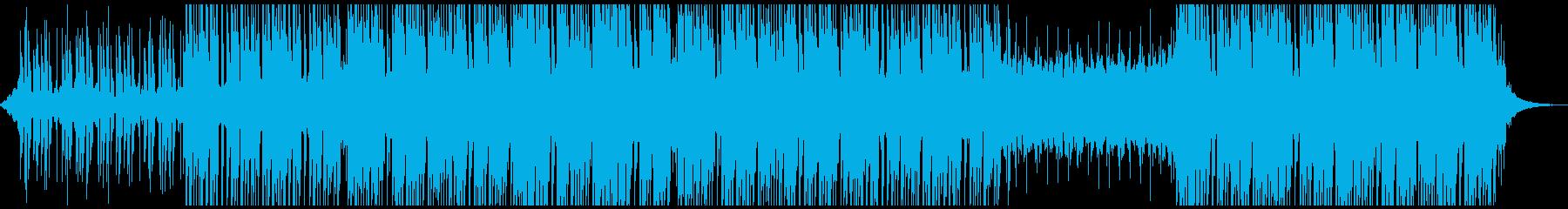 明るいインスピレーションの再生済みの波形