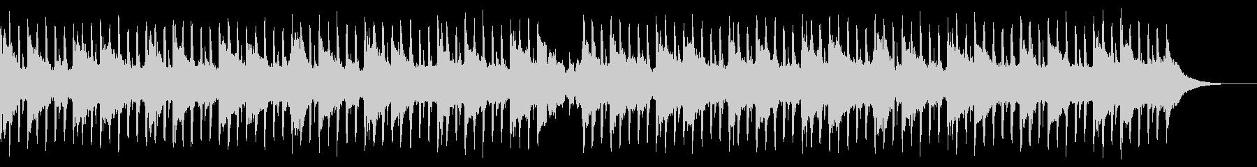 科学音楽(中)の未再生の波形
