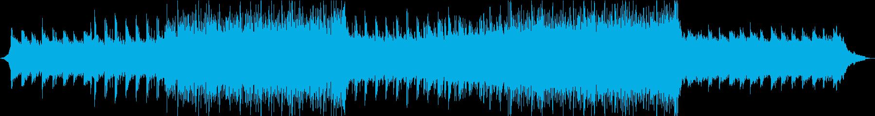 印象に残るメロディのピアノ・ギターロックの再生済みの波形