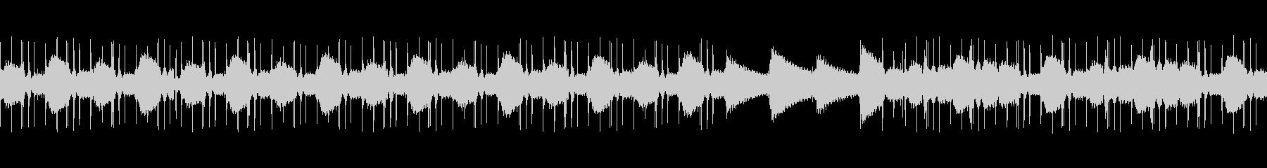 LoFiHipHopのChillっぽい曲の未再生の波形
