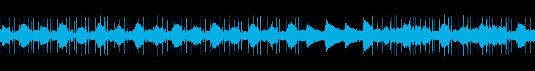 LoFiHipHopのChillっぽい曲の再生済みの波形
