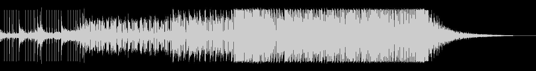 オープニングに適した約1分間作品の未再生の波形