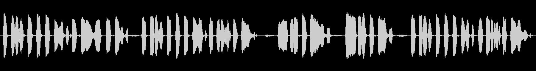 ミュージカルチューン:「キャンプタ...の未再生の波形
