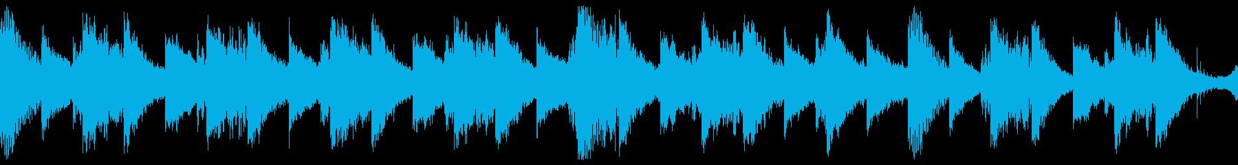Xなファイルの都市伝説_1分ループの再生済みの波形
