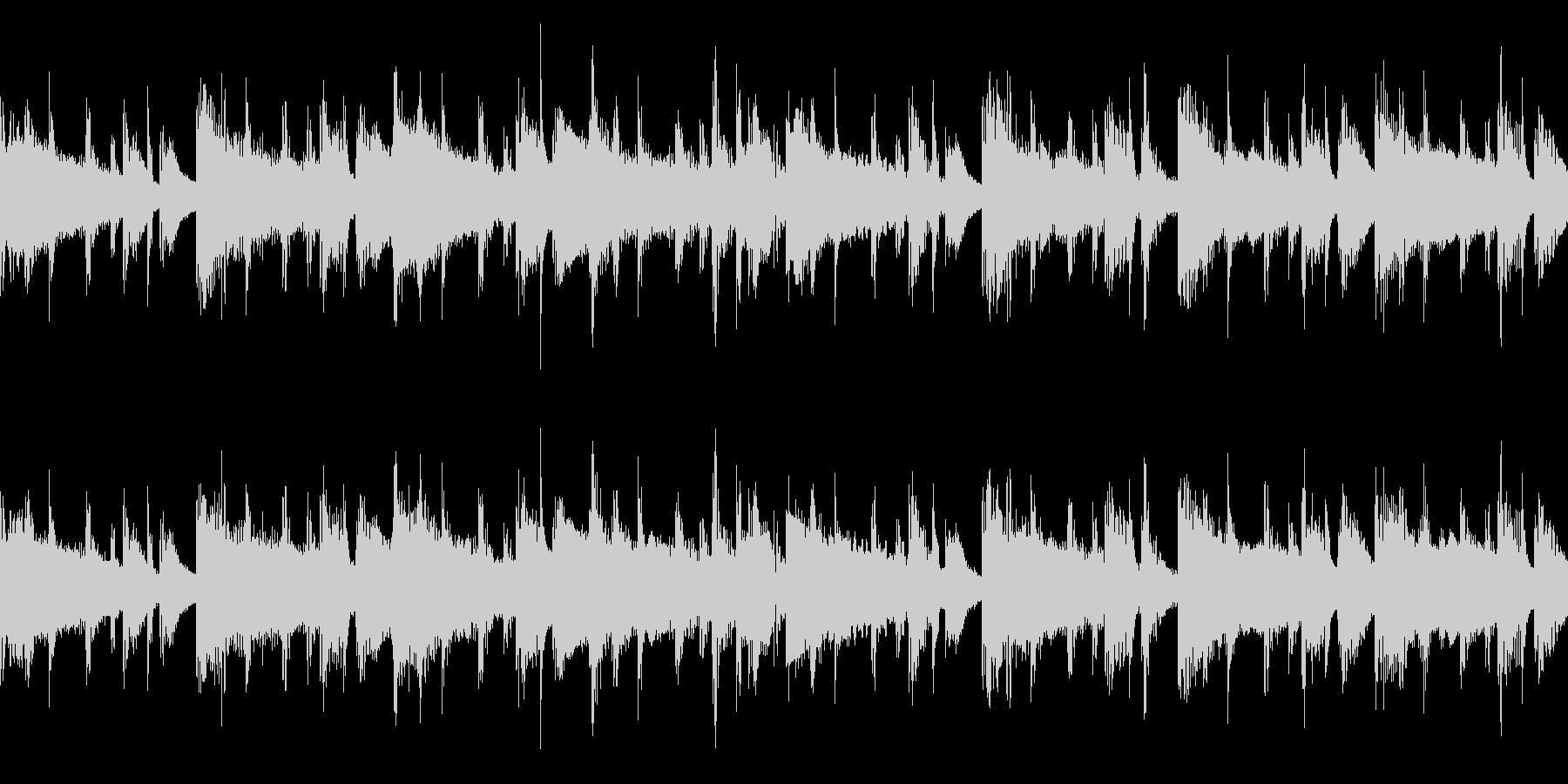 【ループ】メロウなローファイヒップホップの未再生の波形