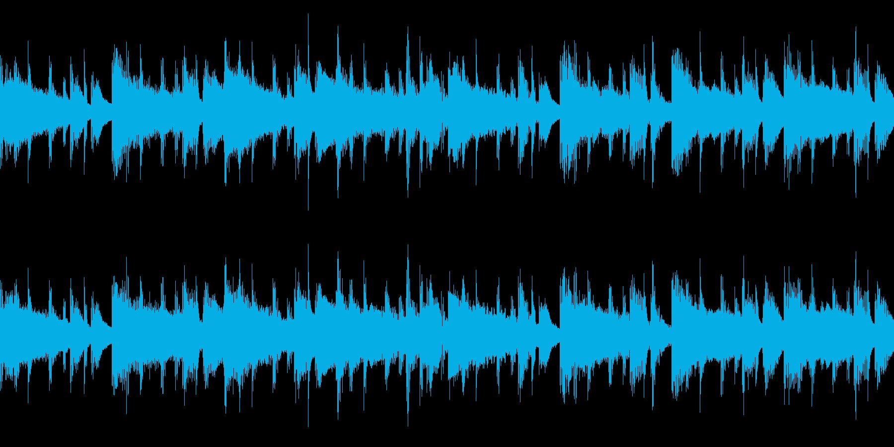 【ループ】メロウなローファイヒップホップの再生済みの波形