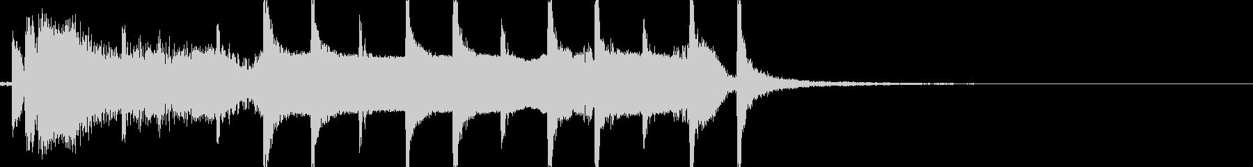 和風 切り替え用ジングル お琴+尺八よぉの未再生の波形