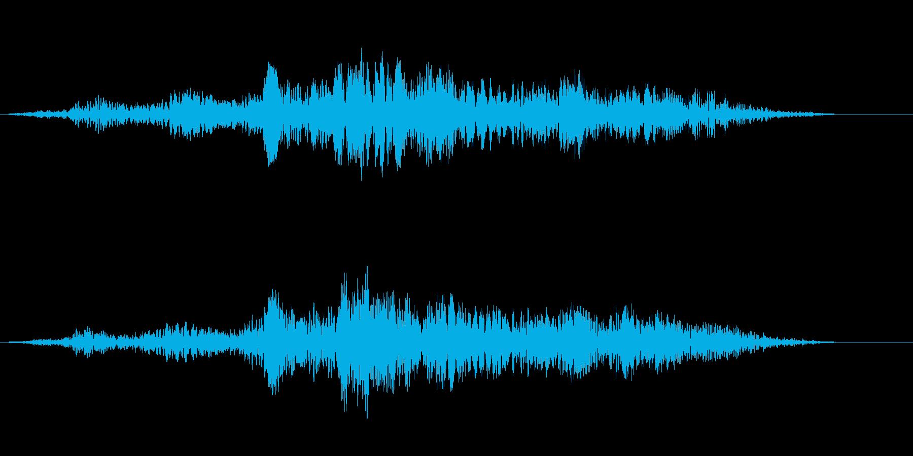 ベッドゴーストリーエンティティの再生済みの波形