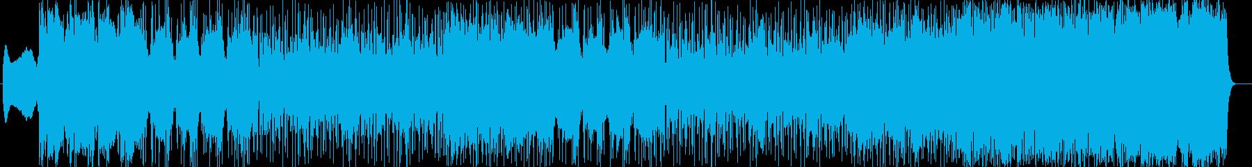 壮大かつ雄大なポップソングの再生済みの波形