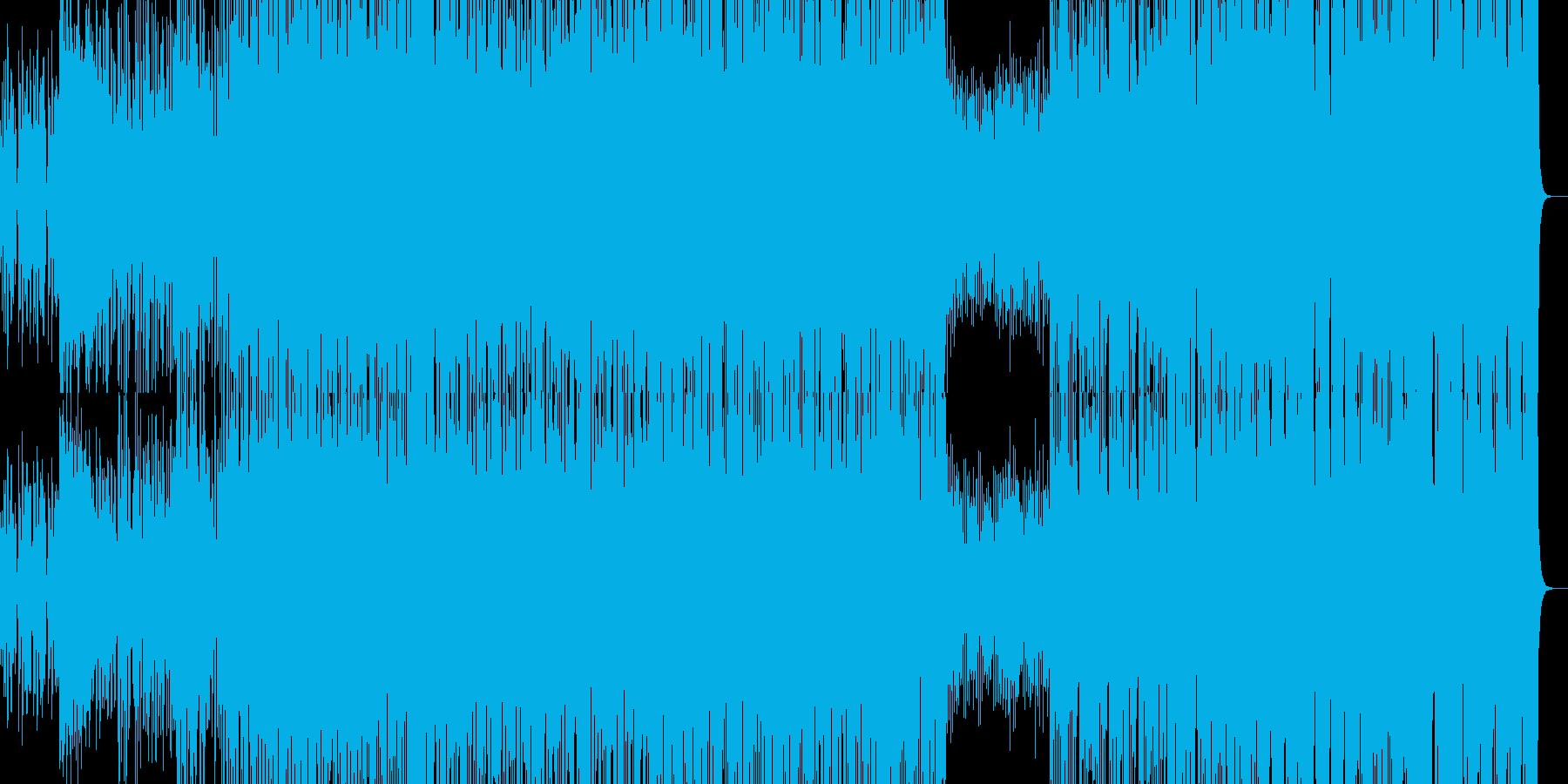 80~90年代ファンク日本風の再生済みの波形