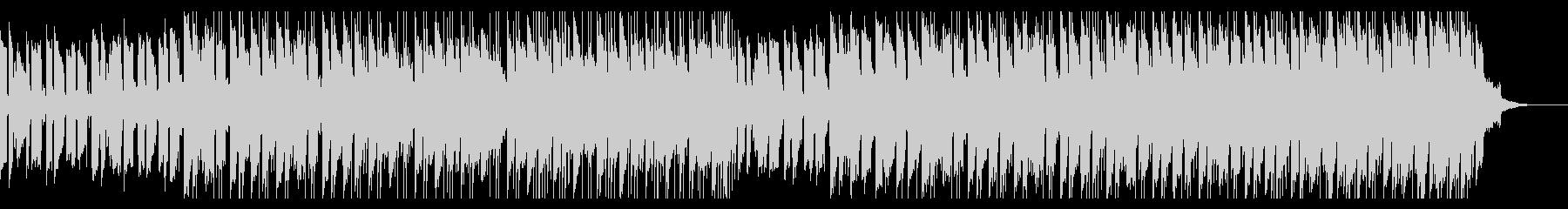 ピアノサックスのパーカッションとエレキギの未再生の波形