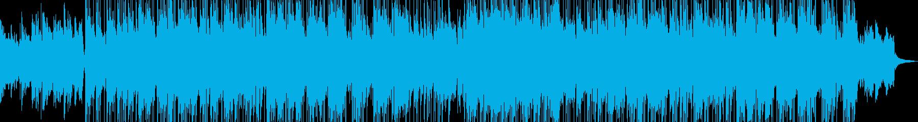 ファンクとジャズのブレンドミュージックの再生済みの波形
