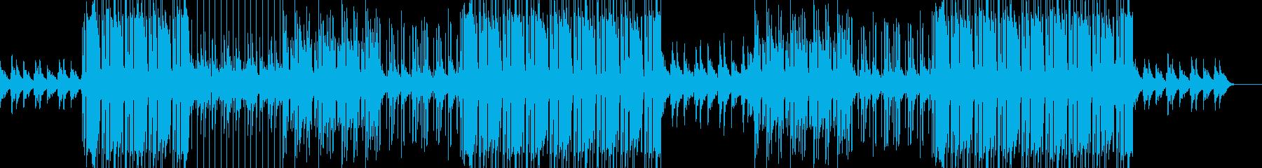 切なくエモいクールなLofiヒップホップの再生済みの波形