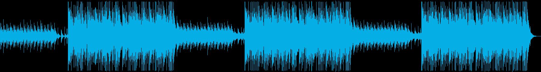 かわいくも不気味なハロウィンのワルツの再生済みの波形