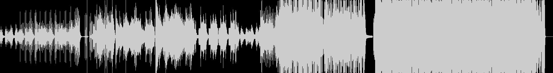 エレクトロニカ要素がエモいピアノ曲の未再生の波形
