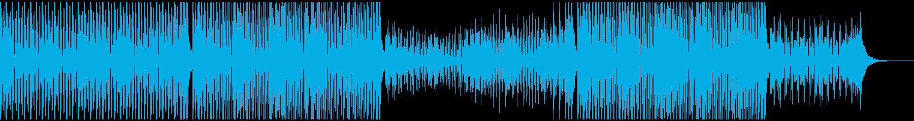 スポーツアクション(90秒)の再生済みの波形